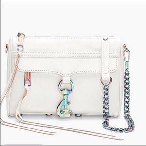 Rebecca Minkoff Oil Slick Mini Mac Crossbody Bag